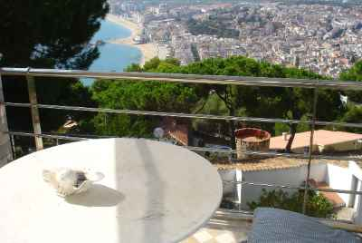 Superbe maison avec vue panoramique à Blanes sur la Costa Brava